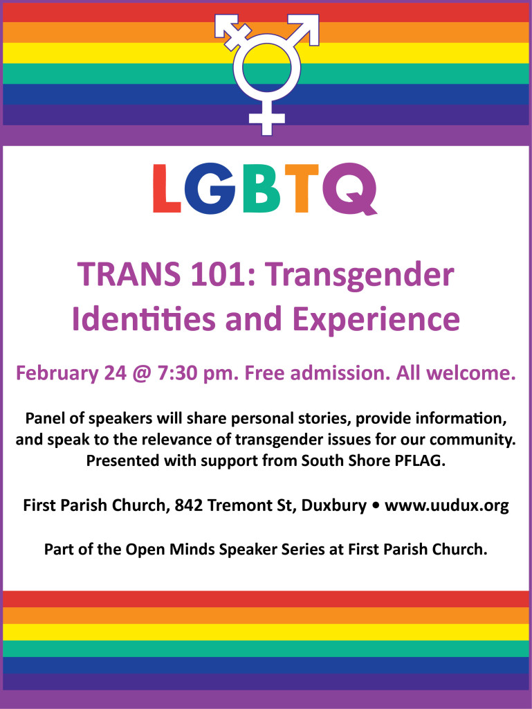 Trans 101 poster version 3